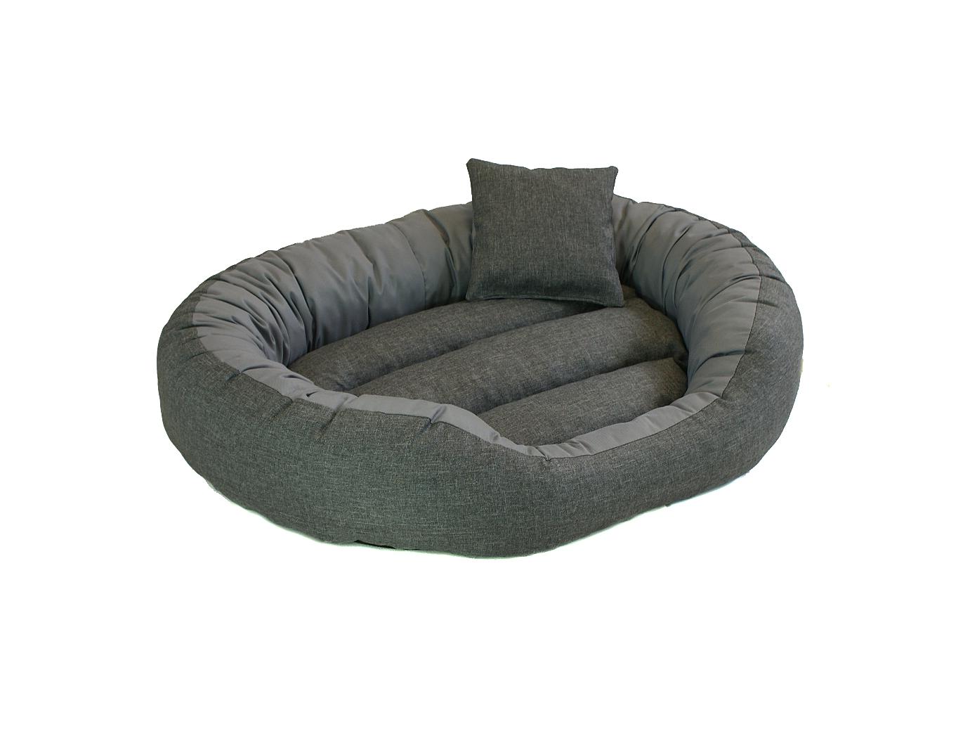 Legowisko dla psa, kota sofa owalna MELANGE EFFECT